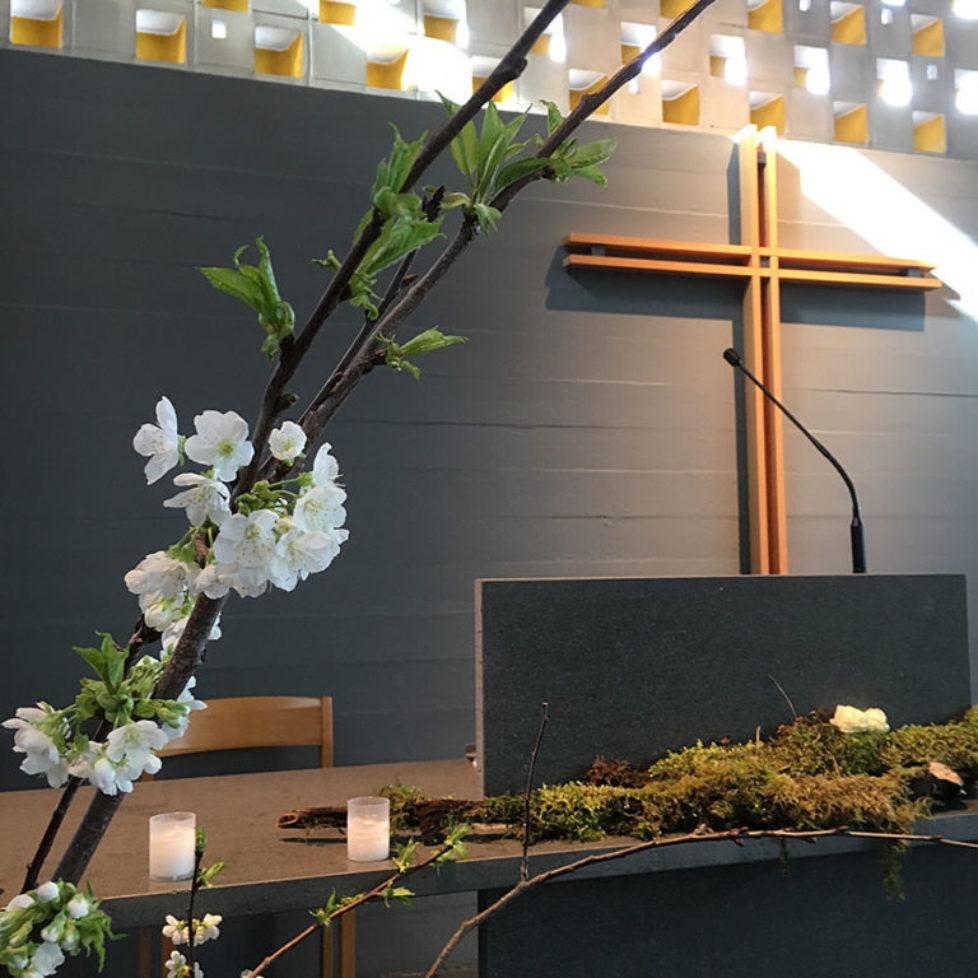 Abdankungsfeier in Kapelle